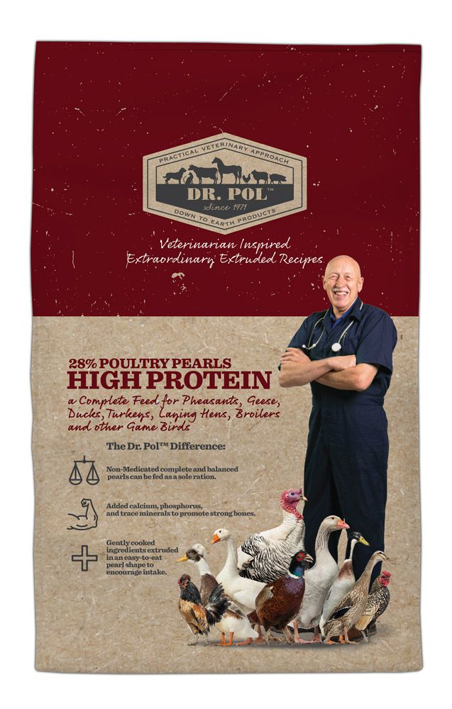 Dr. Pol 28% Poultry Pearls High Protein