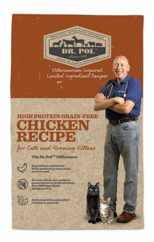 Dr. Pol High Protei Grain Free Chicken Recipe for Cats