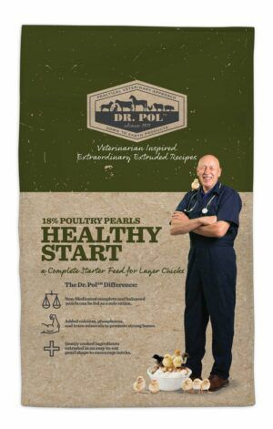 Dr. Pol 18% Poultry Pearls Healthy Start Recipe