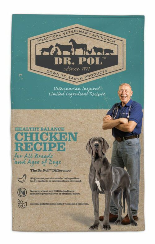 Dr. Pol Healthy Balance Chicken Recipe for Dogs