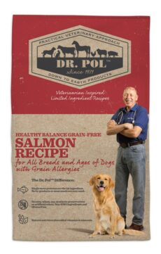 Dr. Pol Healthy Balance Grain Free Salmon Recipe for Dogs