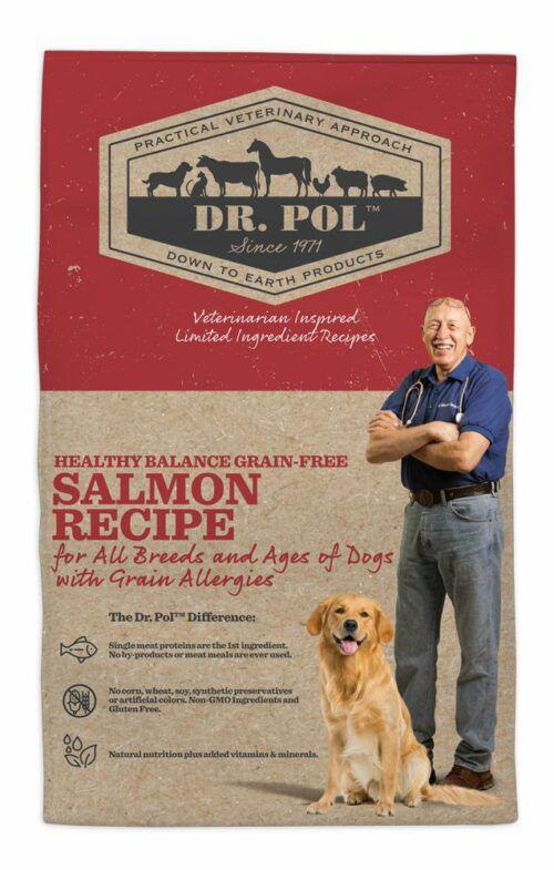 Dr. Pol Healthy Balance Grain Free Salmon Recipe for Dogs