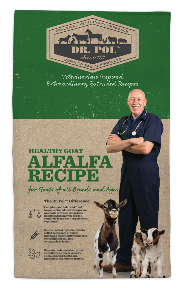 Dr. Pol Healthy Goat Alfalfa Recipe for Goats