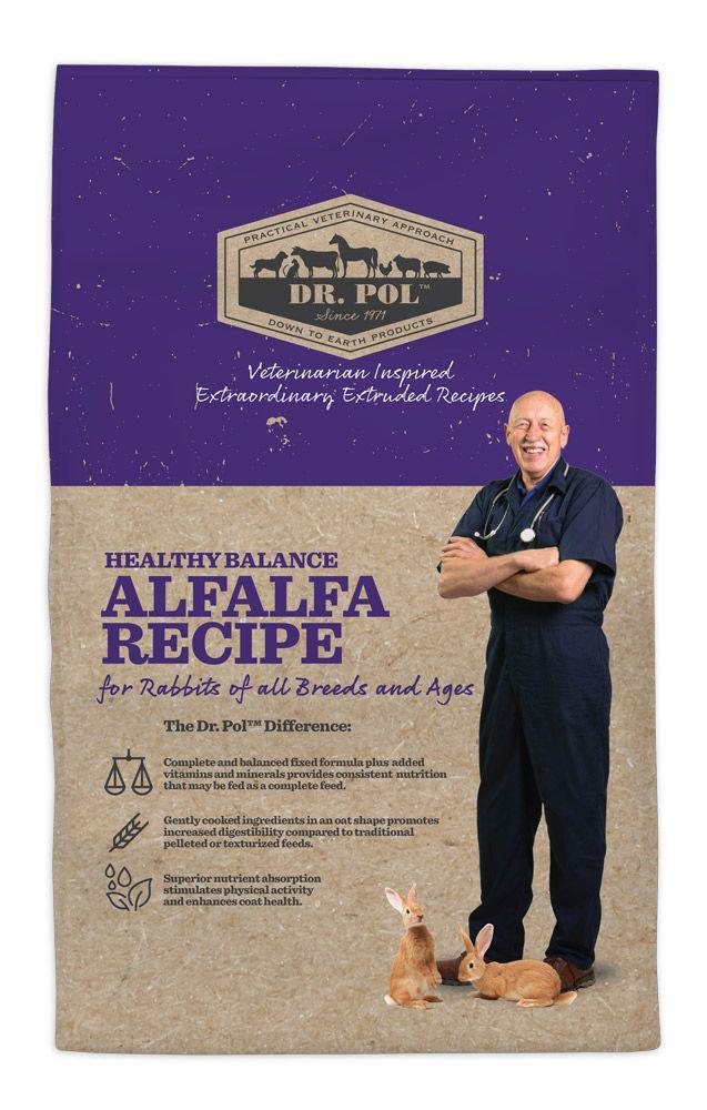 Dr. Pol Healthy Balance Alfalfa Recipe for Rabbits