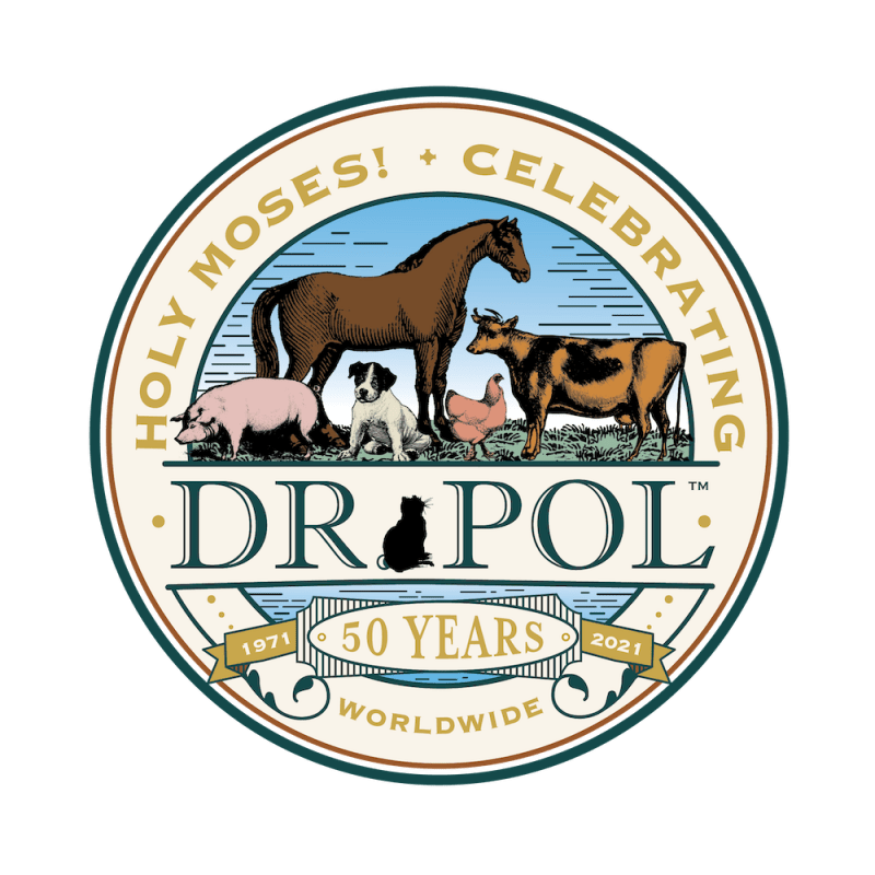 Dr. Pol 50 Years Seal