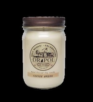 coffee break soy candle