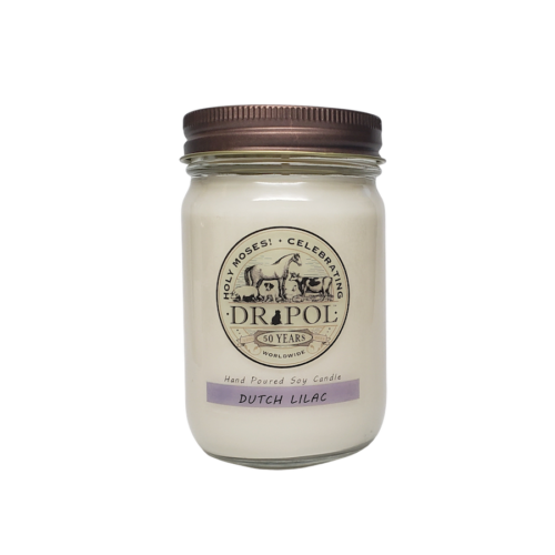 dr pol scented candles dutch lilac