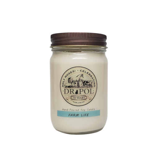 dr pol scented candles farm life