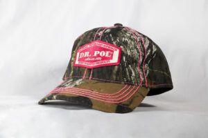 Dr Pol Pink Camo Hat Cap
