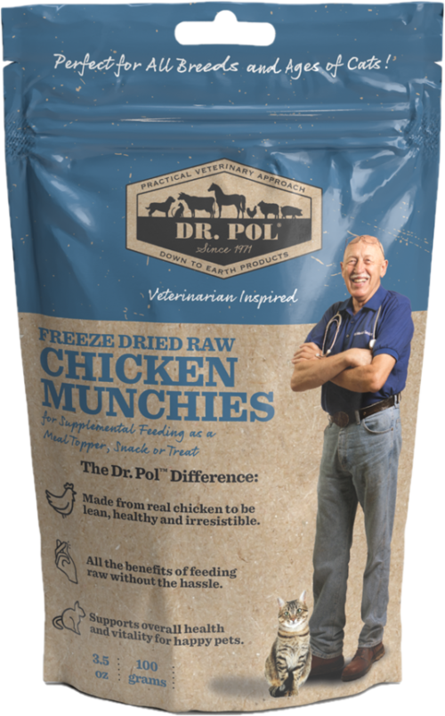 dr pol freeze dried chicken munchies