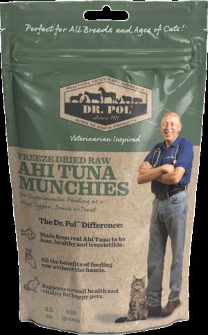 Dr Pol Dried Raw Ahi Tuna Munchies